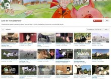 Videokanal aus dem Land der Tiere