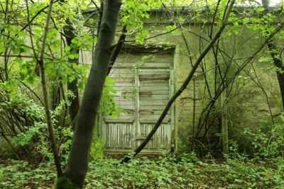Der Eingang von Haus #1 war nur für Ortskundige zu finden
